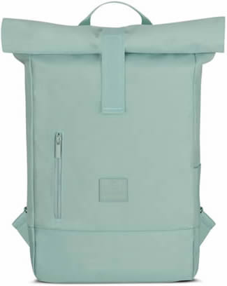 mochila ecológica azul